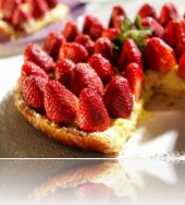 Strawberry Cheese Cake of the world Manal